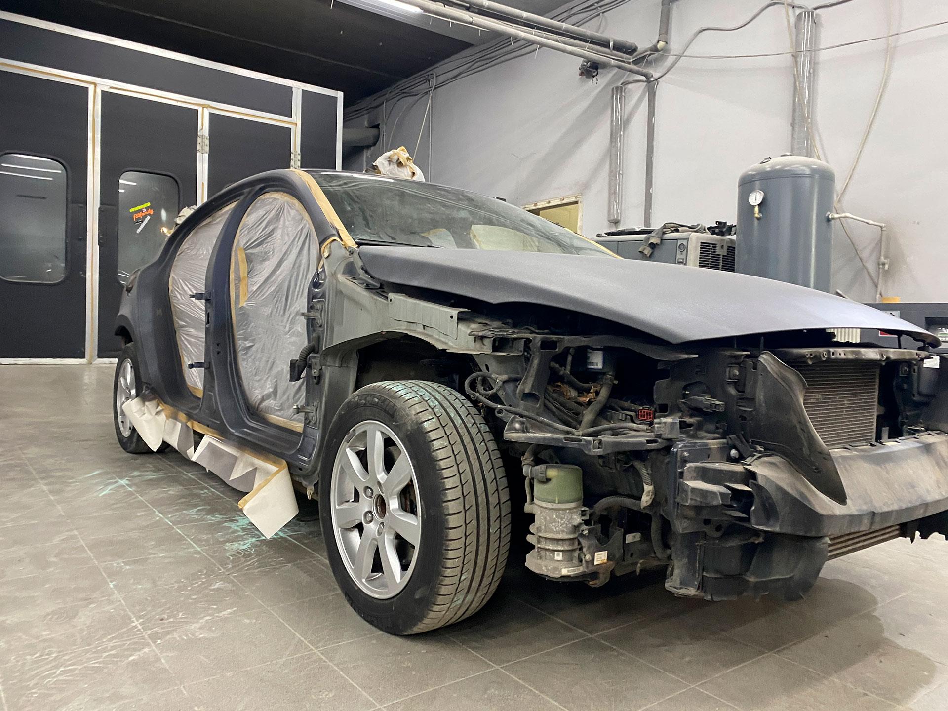 Полный окрас Volvo s60