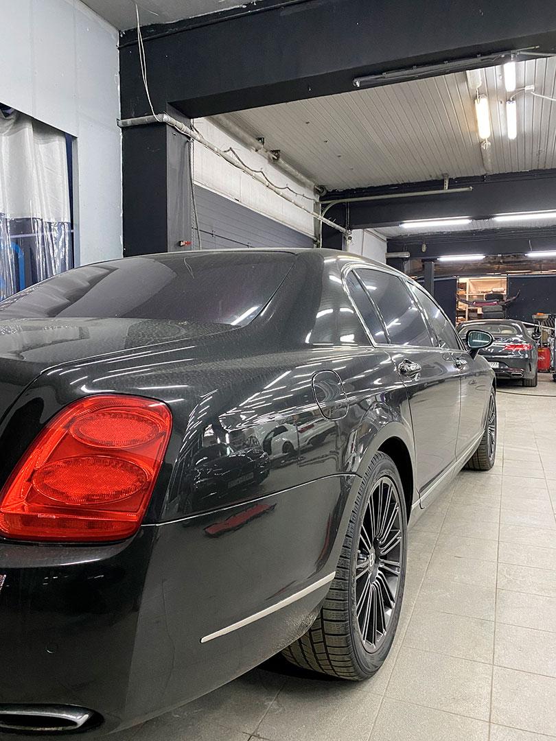 Bentley полный окрас