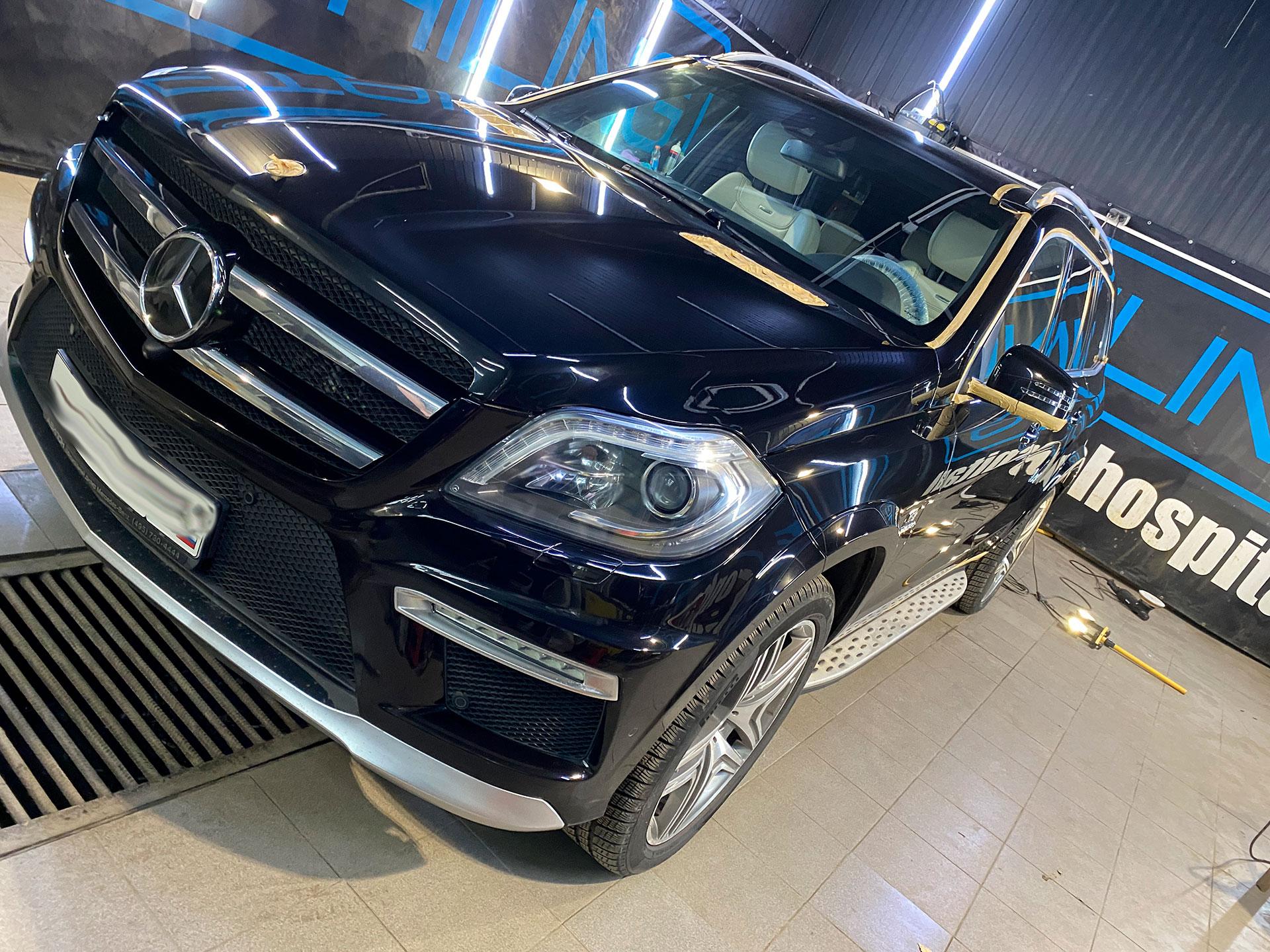 Полировка и керамика на Mercedes GL