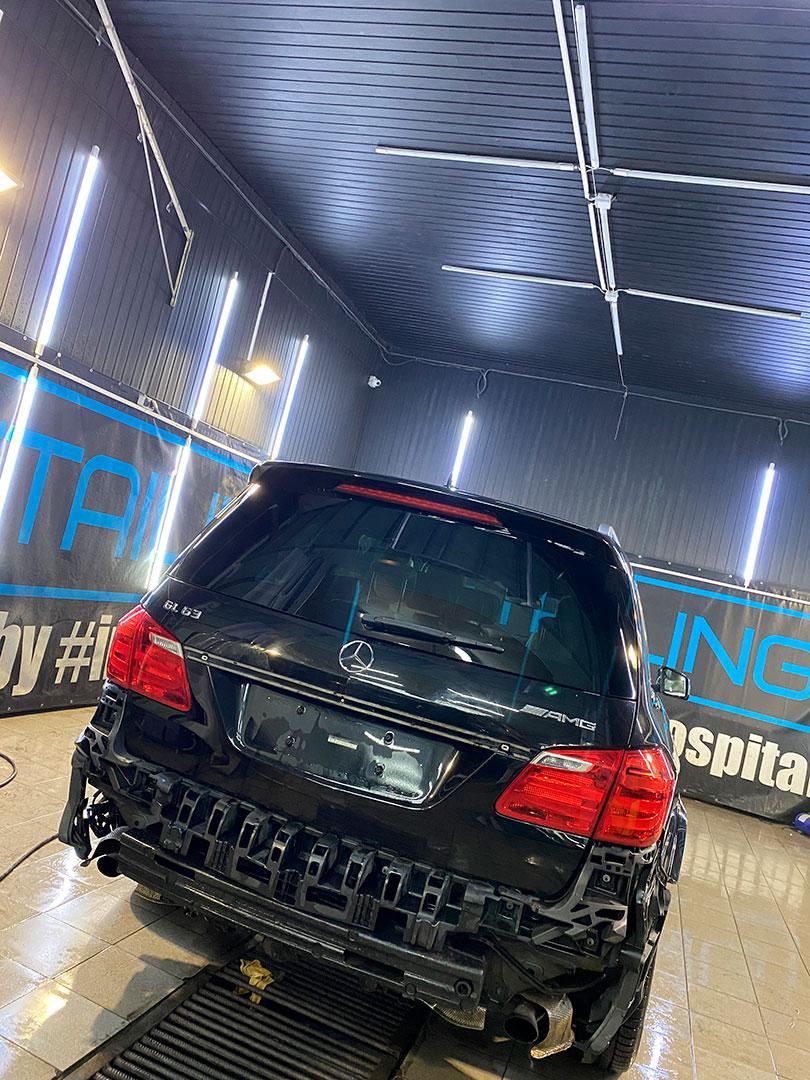 Детейлинг мойка Mercedes GL63