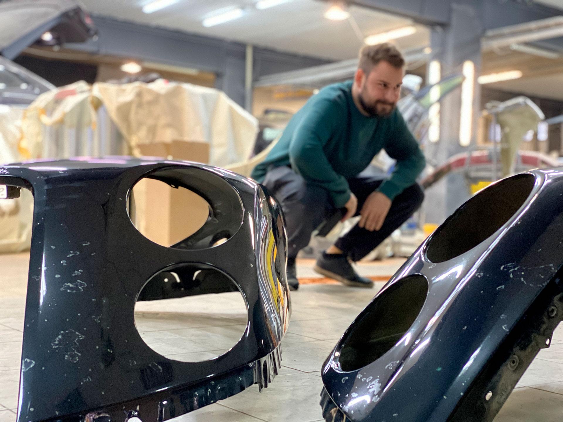 Кузовной ремонт и окрас Bentley